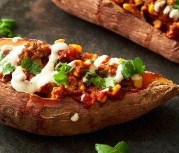 Korma farcies aux patates douces