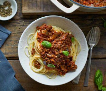 Spaghetti Bolognaise vegan