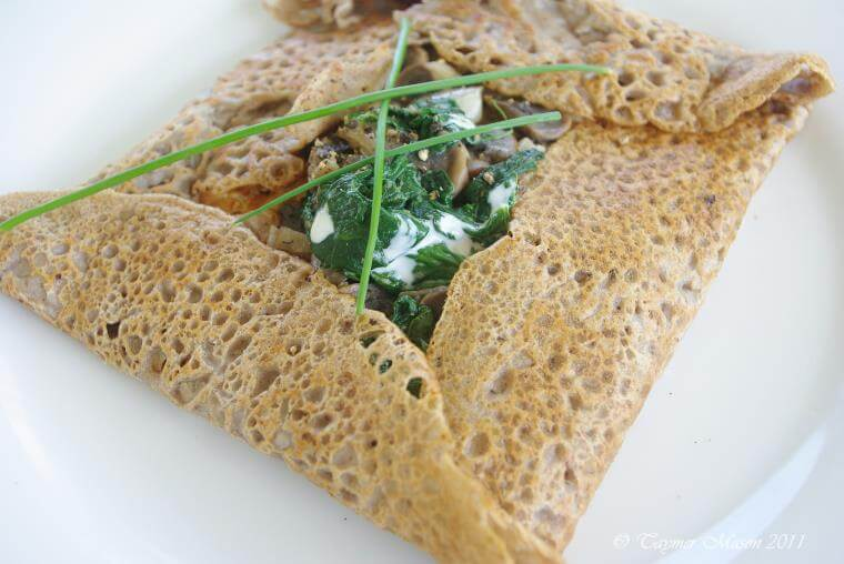 Crêpes bretonnes vegan