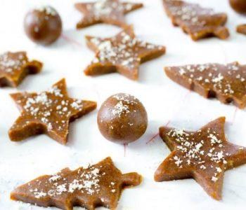 Gâteaux au gingembre sans cuisson