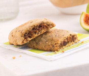 Biscuits aux figues et aux mûres blanches