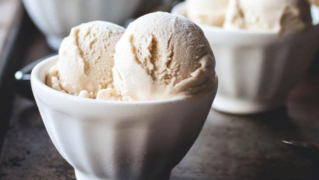 Glace à la vanille vegan