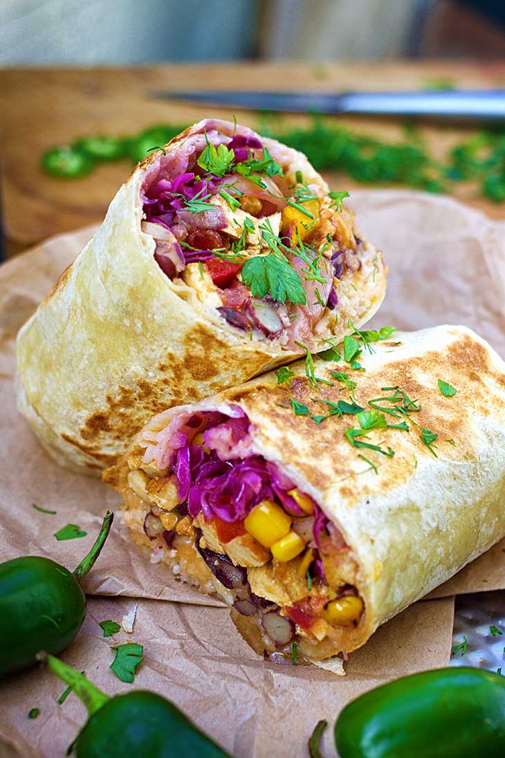 Burritos Vegan