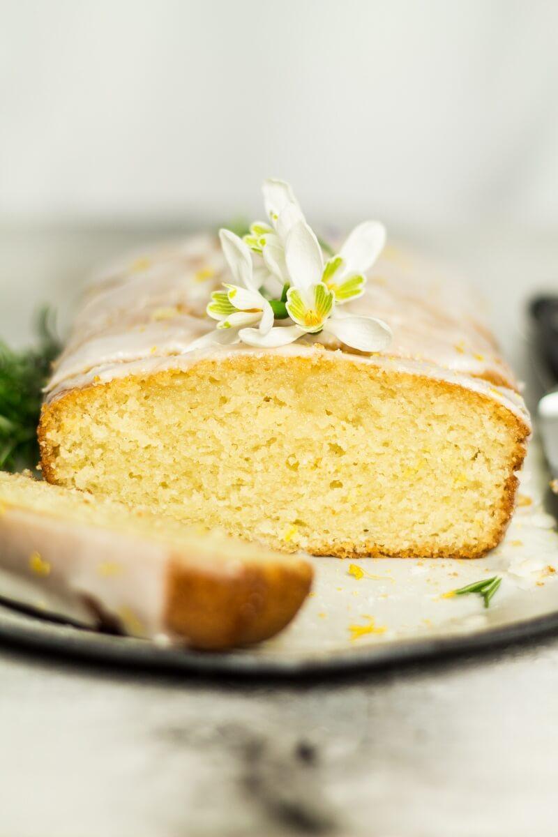 Gâteau au citron Vegan