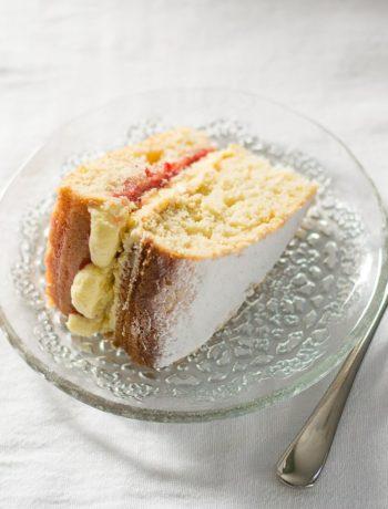 Gâteau éponge vegan