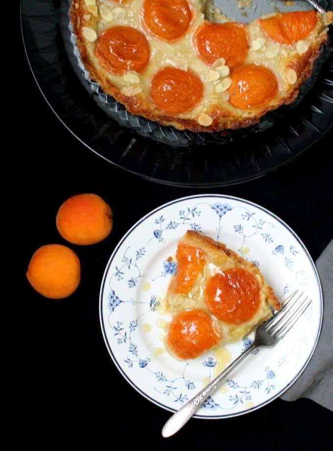 Tarte aux abricots et aux frangipanes