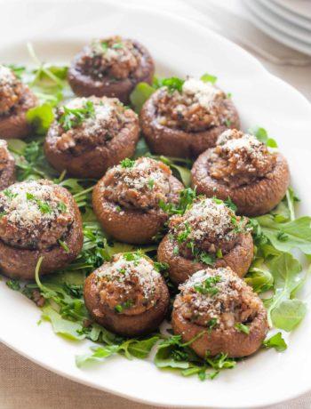 Pâté crémeux vegan aux champignons et aux noix confites