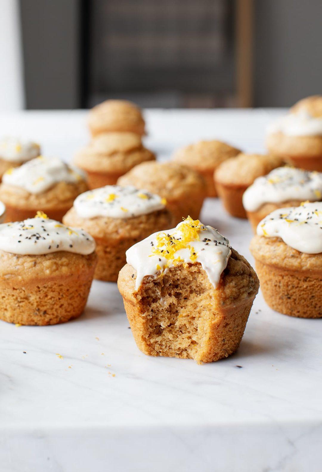 Muffins vegan au citron